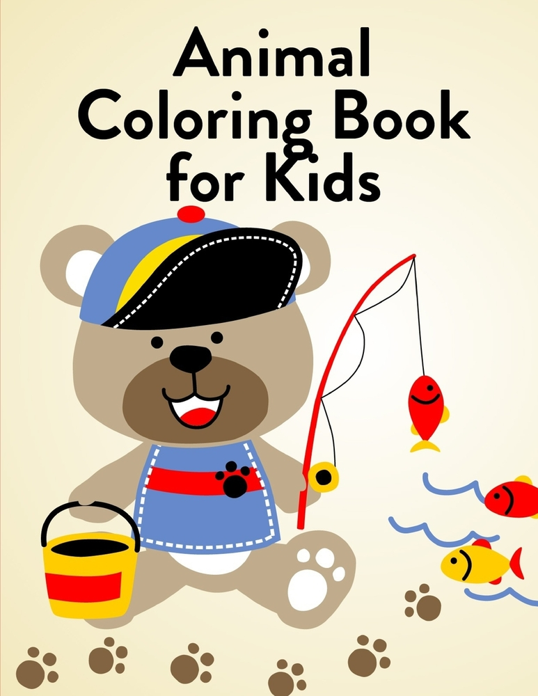 - Animal Coloring Book For Kids And Toddlers: Super Cute Kawaii Coloring Books