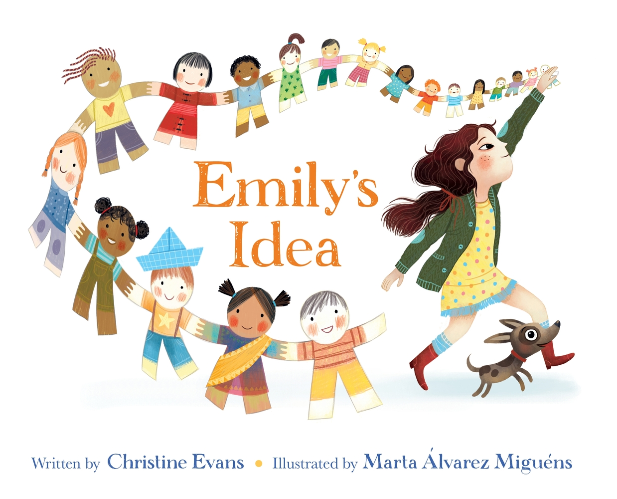 """Cover of """"Emily's Idea"""" by Christine Evans, illustrated by Marta Alvarez Miguens"""